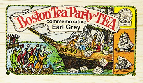 Metropolitan Tea Boston Tea Party Commemorative Earl Grey - 25 Tea Bags