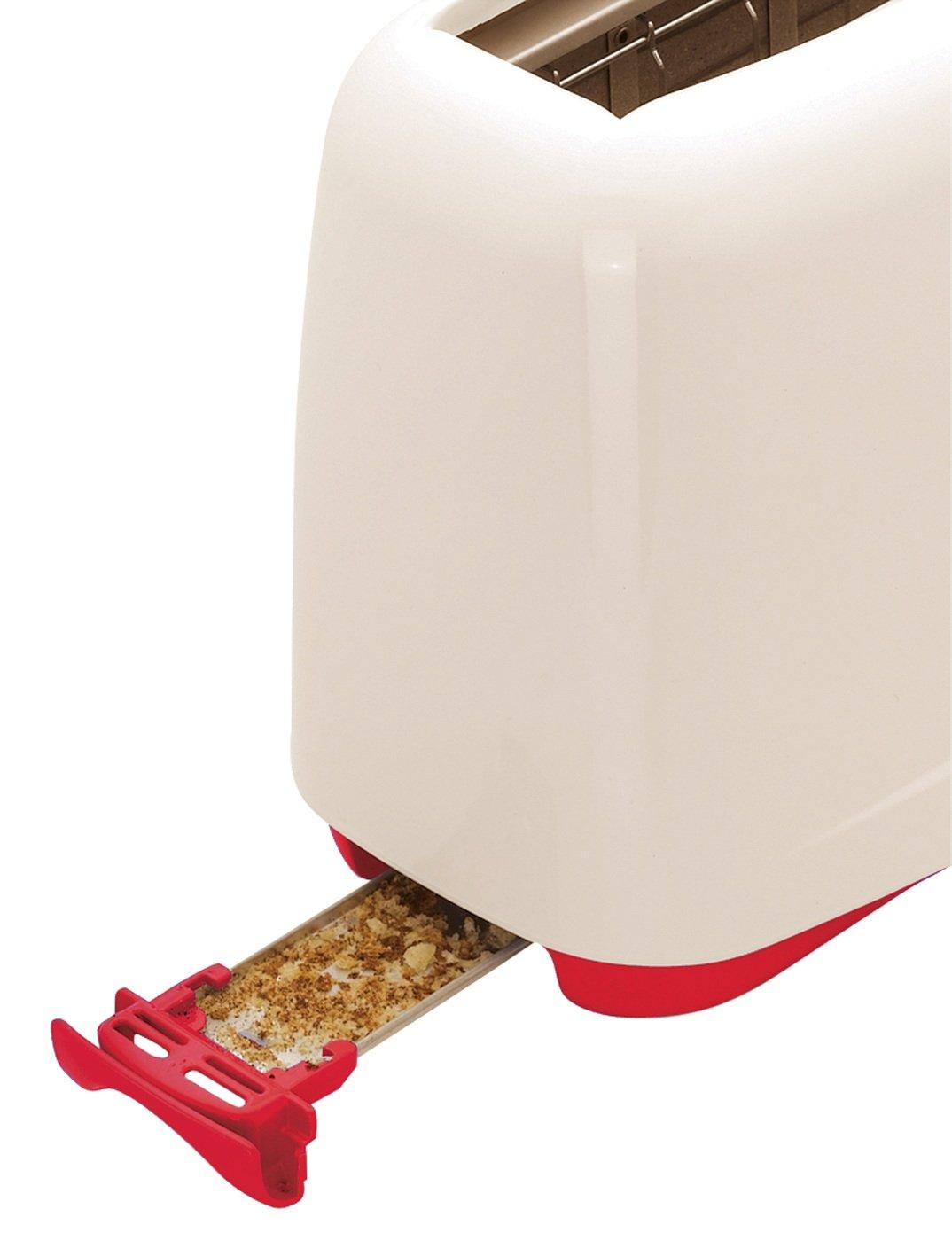 Tostadora Moulinex Principio Rojo y Blanco por solo 25,97€