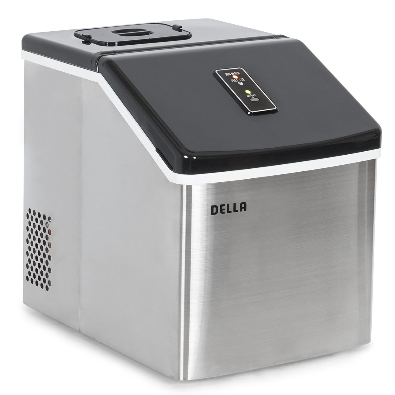 c45551ffd28 Della Electric Ice Maker Machine Portable Counter Top Yield Up To 28 Pounds  of Ice Daily ...
