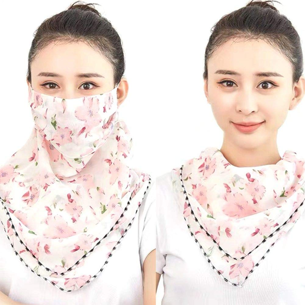 New Women Scarf Cool Bandana Head Face Shield Neck Veil Sun Protection Sunscreen