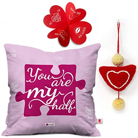 Buy Indi ts Valentine Gift for Boyfriend You are My Half