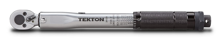 TEKTON 24320 Cl/é dynamom/étrique 1//4, 20-200 pouces//livre