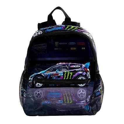 nueva llegada a5146 ba1aa Coche de Rally de Moda Mochila Escolar Mochila de Estudiante Ligero para  niños Mochila Escolar Mochilas de niños Lindos Bolsas Infantiles para ...