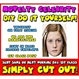DIY - Do It Yourself Face Mask - Ginny Weasley Celebrity Face Mask