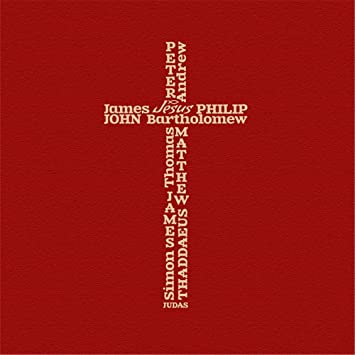Amazon.com: 12 Apostles Cross, Jesus Christ, cross decals ,christian ...