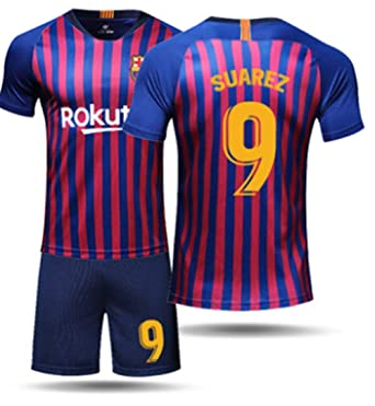 uk availability a8128 b073d Amazon.com: LISIMKE Men's Suarez Jerseys Barcelona #9 Soccer ...