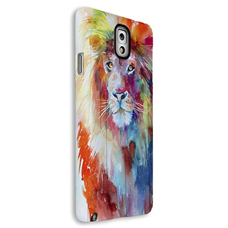 Funda carcasa para Samsung Galaxy S3 Mini estampado león de colores