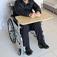 Bandeja para sillas de ruedas, Bandeja de madera
