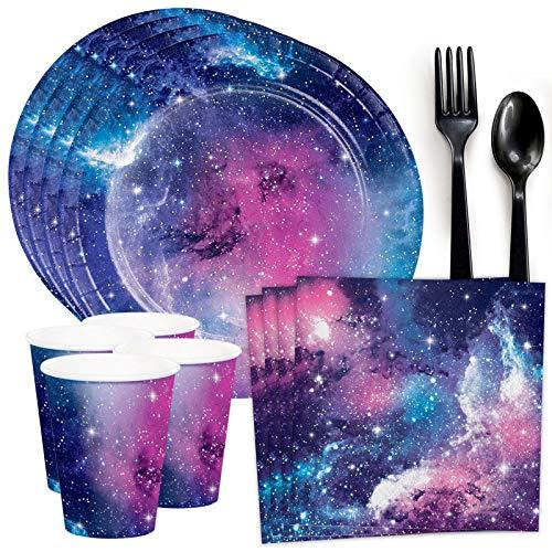 Costume SuperCenter Galaxy Party Standard Tableware Kit (Serves 8)