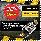 Premium Sandblaster Sand Blaster Gun Kit, Soda