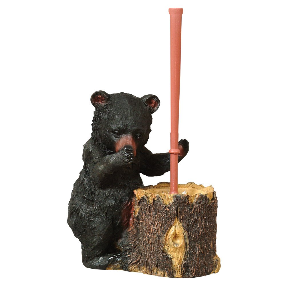 Black Bear Toilet Brush - Wilderness Bath Accessories
