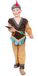 Fries 1917 Indianer Anoki Kinder Jungen Kostum Fasching Karneval