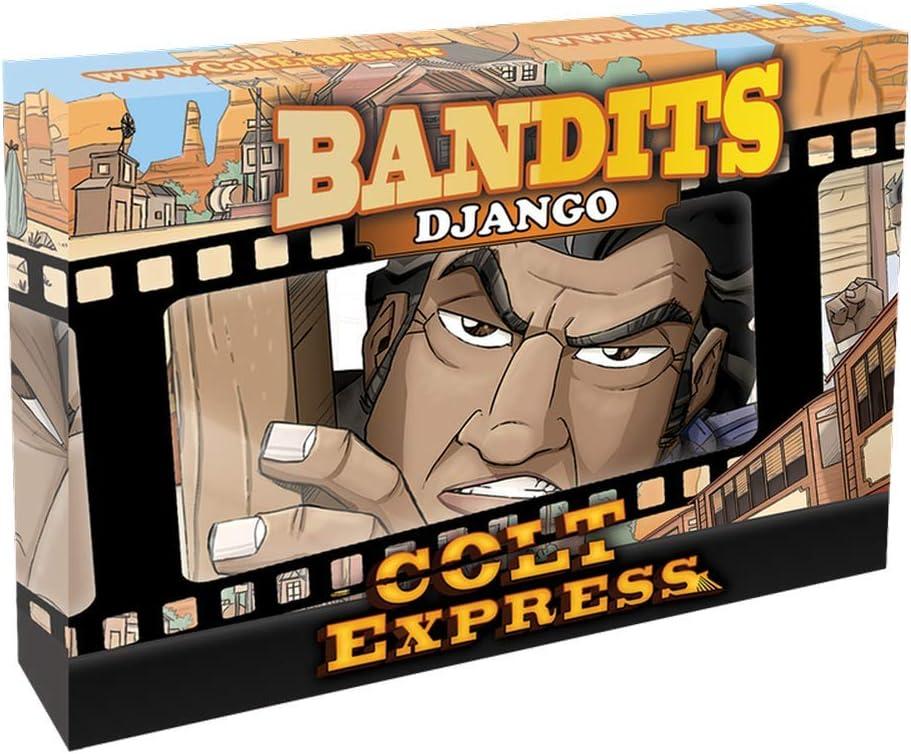 ludonaute ludd0011 Colt Express – Bandits Django, ampliación: Amazon.es: Juguetes y juegos