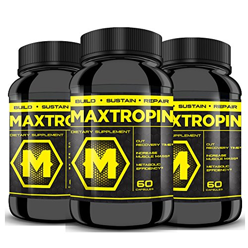 MAXTROPIN - Buy 2 Get 1 FREE! Increase Muscle Mass, Cut Recovery Time, EXPLOSIVE Workouts!