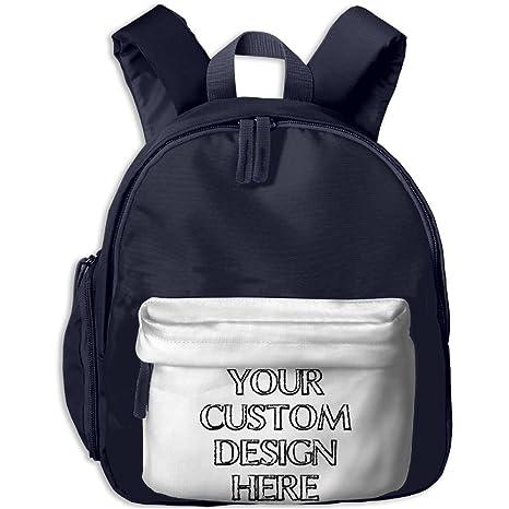 Make Your Own Custom Canvas School Backpack Funny Visor Backpack For Kids 1ebf98286
