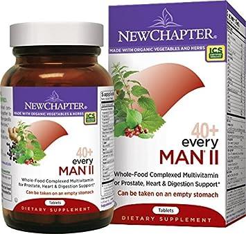 Amazon.com: NUEVO capítulo 40 cada hombre II Multivitamin ...