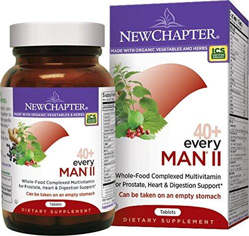 New Chapter Every Man II 40+, Men's Multivitamin Fermented w