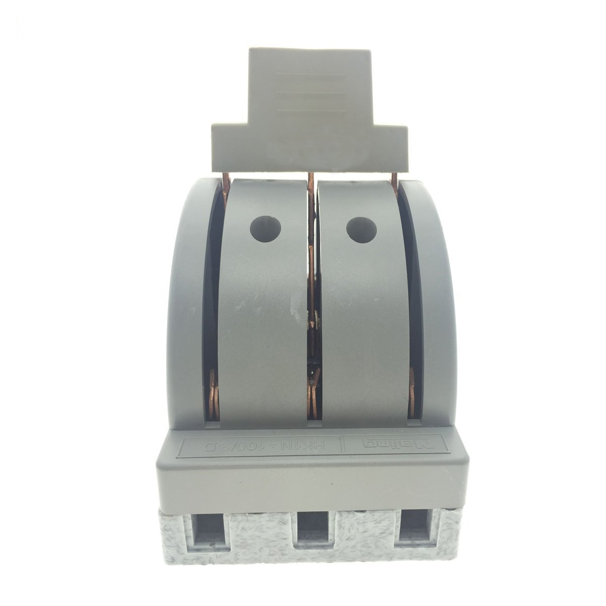 YXQ 380V 100A 3 Pole Double Throw Power Supply Safety Control Knife Switch Gray by YXQ (Image #4)
