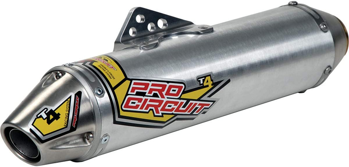 Pro Circuit T-4 Slip-On Exhaust for 06-19 Yamaha RAPTOR700 Standard