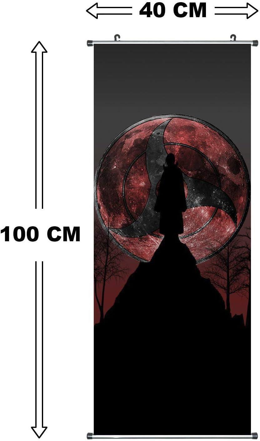 100 x 40 cm dise/ño de dibujos animados CosInStyle P/óster de tela para colgar