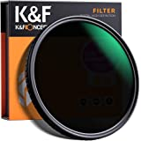 K&F Concept 49mm Fader ND Filter Neutral Density Variable Filter ND2 to ND32 for Camera Lens NO X Spot,Nanotec,Ultra-Slim,Wea