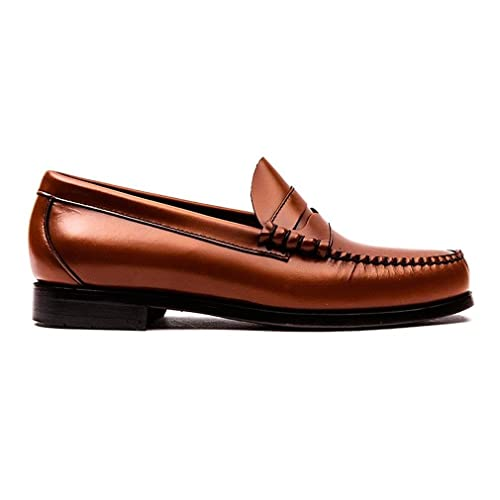 67ee02cc3c1 G. H. Bass Mens Weejuns Larson Moc Penny Leather Shoes  Amazon.co.uk ...
