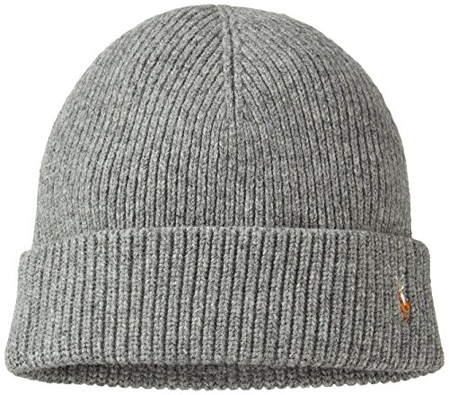 n's Signature Merino Skullie Cap Heather Grey Beanie Hat OS ()
