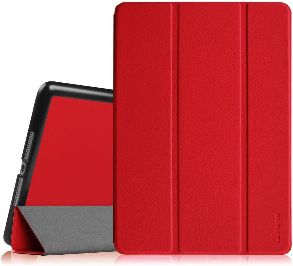 "Fintie Case for iPad Air 2 9.7"" - [SlimShell] Ultra Lightweight Stand Smart Protective Cover with Auto Sleep/Wake Feature for iPad Air 2, Red"
