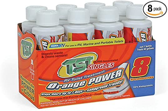 Amazon Com Camco Tst Ultra Concentrated 8 Pack 4 Oz Bottle Automotive
