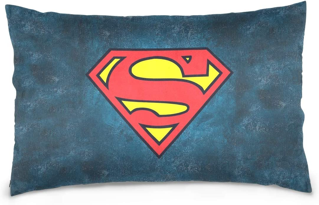 Throw Pillow Covers Superman