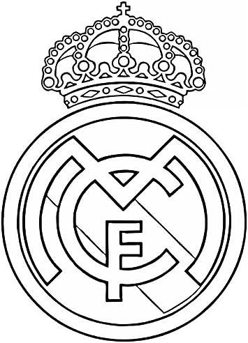 Real Madrid Soccer Football Art Decal Bumper Vinyl Sticker