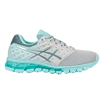 ASICS Women's Gel-Quantum 180 2 MX Mid Grey/Aruba Blue/Mid Grey
