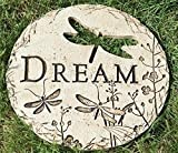 Roman 12″ Dragonfly Cut-Out Dream Decorative Garden Patio Stepping Stone Review