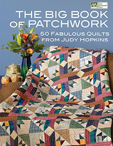 Corner Quilt Fabrics - The Big Book of Patchwork: 50 Fabulous Quilts from Judy Hopkins