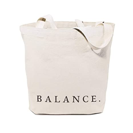 Amazon.com: Balance Cotton Canvas Gym Yoga Shopping And ...