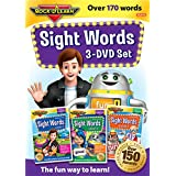 Sight Words 3-DVD Set by Rock 'N Learn: Over 170+ words includes all pre-primer, primer, and first grade Dolche words plus many Fry words
