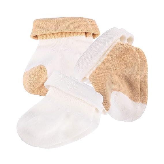 Kiddaroos New Baby Calcetines, 0 -3 Meses Unisex Recién Nacido, Pack ...