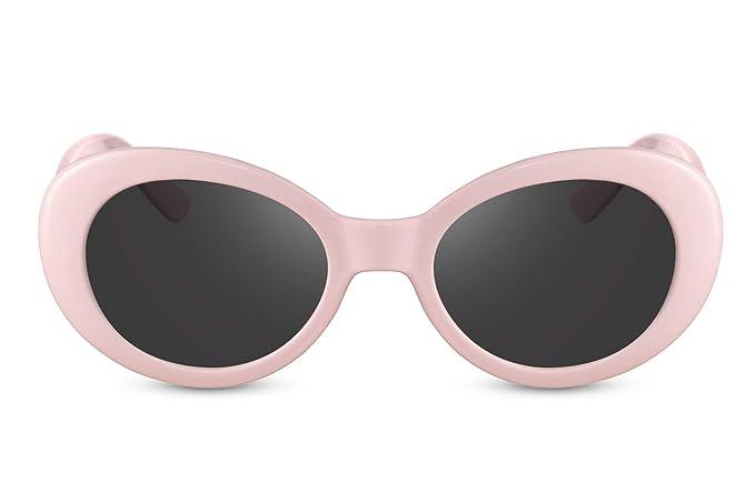 6fca5d9acd Cheapass Gafas de Sol Vintage Cristales Rosas Ahumados Kurt Cobain Gafas  Protección UV400