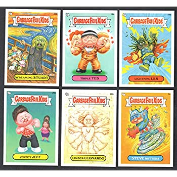 16d914a65 Amazon.com: GARBAGE PAIL KIDS NEW SERIES - LOT of 50 DIFFERENT CARDS ...