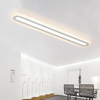 Fengchandelier Led Deckenleuchte Lange Streifenlampe Moderne