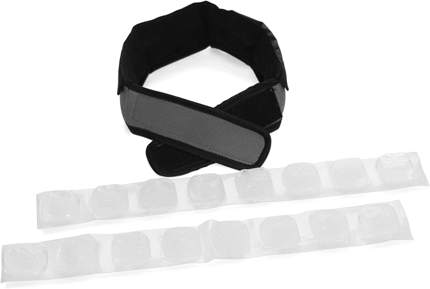 FlexiFreeze Cooling Collar, Charcoal