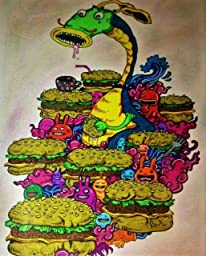 Amazon Doodle Invasion Zifflins Coloring Book Volume 1 8601419685028 Zifflin Kerby