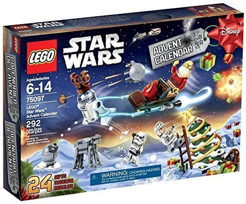 LEGO Star Wars 292pcs) Advent Calendar Toy for Kids Figures Building Block Toys