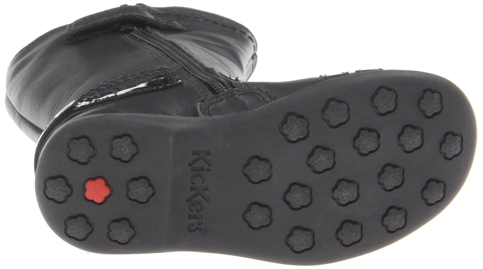 Kickers Kid's Angelyn Boot, Black, 28 (US 10.5 Little Kid) M US by Kickers (Image #6)