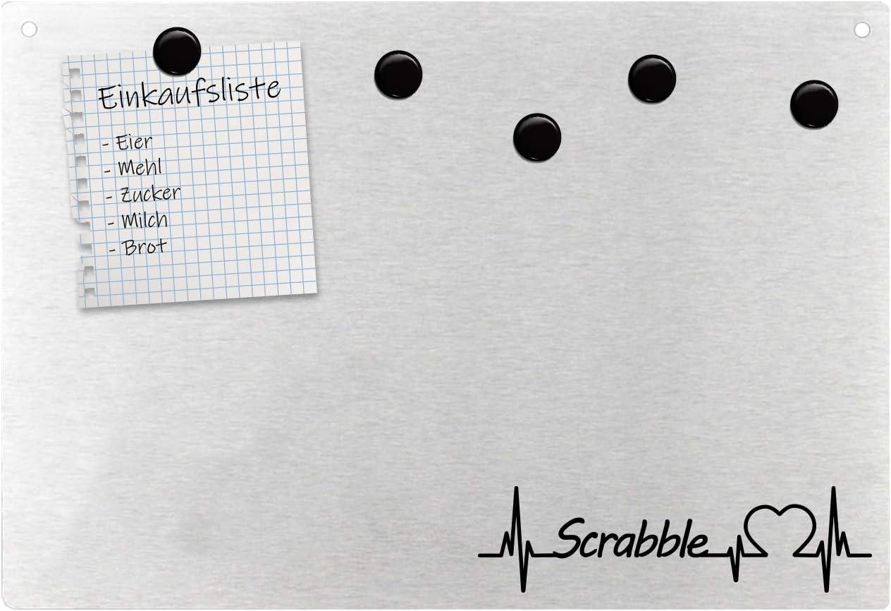 Pizarra magnética de pared para fans de Scrabble: Amazon.es: Oficina y papelería
