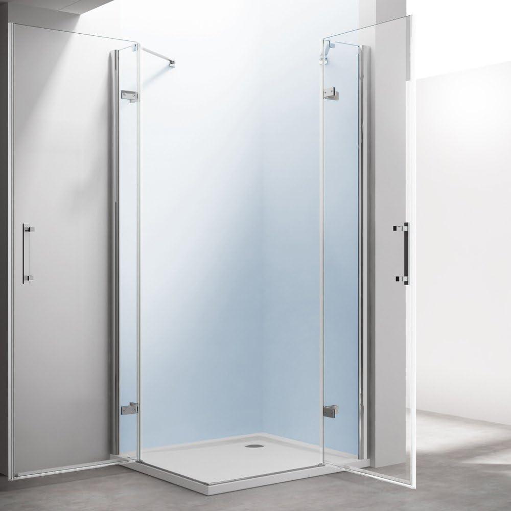 TBH: 100 x 120 x 195 cm Mampara de ducha manhattan01 K, incluye ...