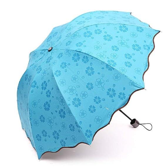 Paraguas de Viaje automático Cebbay Automático a Prueba de ...