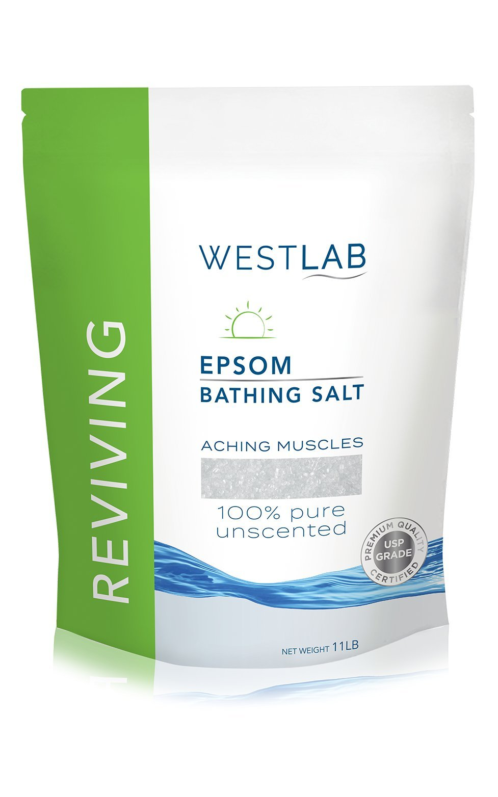 Westlab Epsom Salts - Reviving - 11lb Resealable Bag
