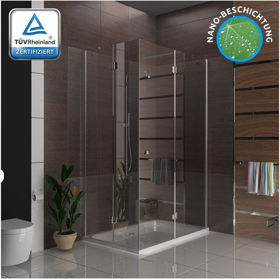 Diseño ducha cabina 90 x 140 x 195 cm 3078193010 métrica Easy Clean Cristal (Incluye los arañazos de vidrio Mampara de ducha Ducha: Amazon.es: Bricolaje y herramientas