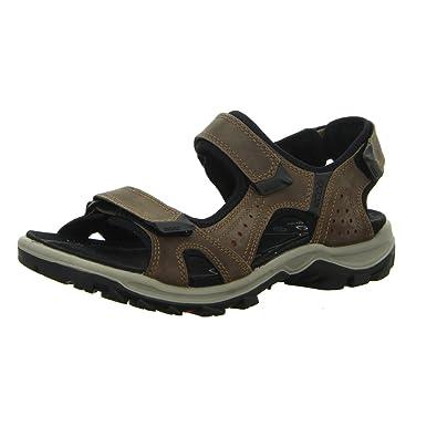 28babbf44939 Ecco Men s Ecco Offroad Lite Cheja Sandal Athletic Sandals Brown  Coffee Brick Size  43